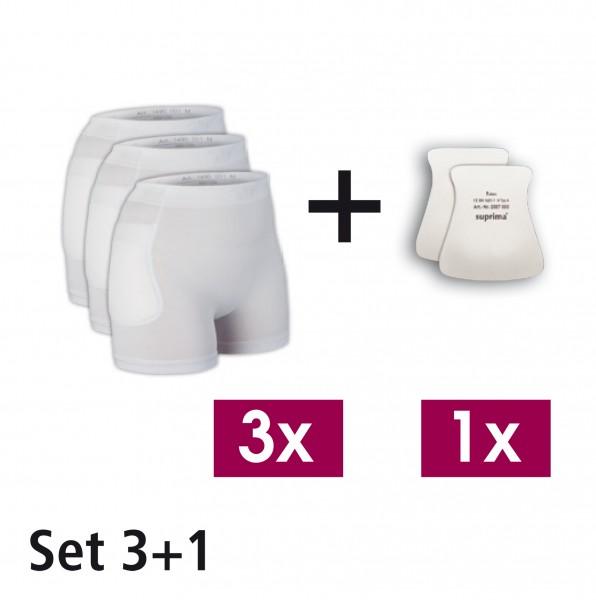Suprima Hüftprotektor - System, Set 3+1