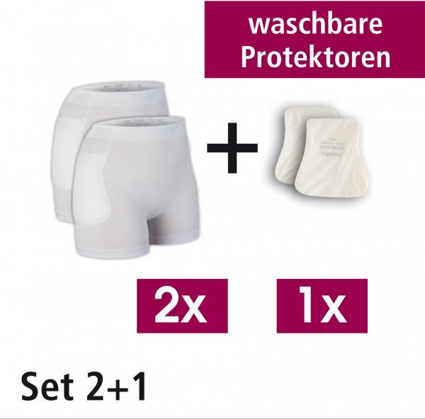 Suprima Hüftprotektor - System, Set 2+1, waschbar