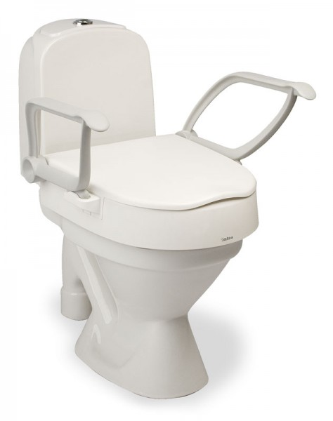 Etac Toilettensitzerhöhung Cloo m. Armlehnen