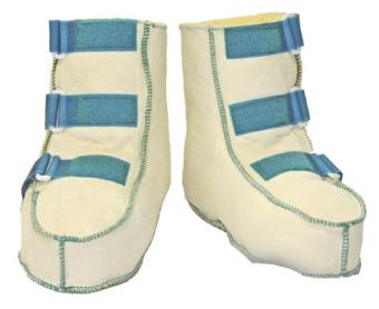 Orgaterm Reha-Schuhe Echtfell