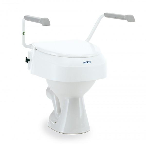Invacare Aquatec 900 Toilettensitzerhöhung m. Armlehnen