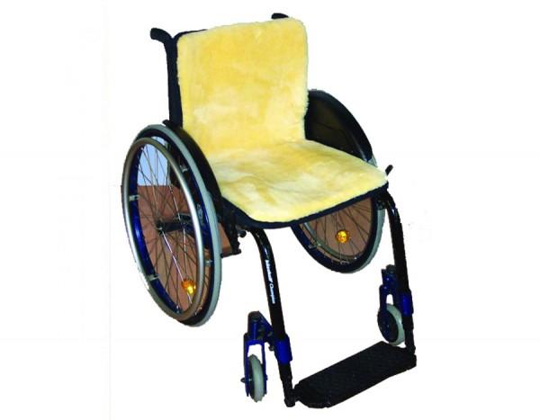 Orgaterm Rollstuhlauflage Echtfell