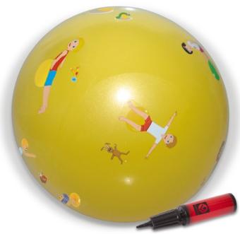 IMNOTEC Gymnastik- und Spielball Anti-Burst